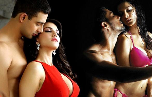 Arunoday Singh, Sunny Leone and Randeep Hooda in Jism 2