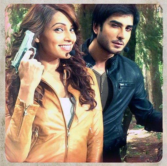 Bipasha Basu and Imran Abbas