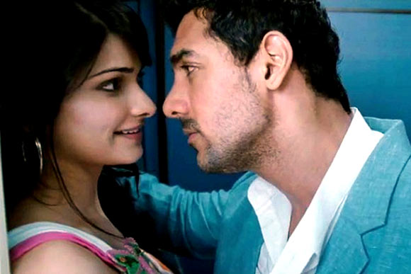 Prachi Desai and John Abraham in I Me Aur Main