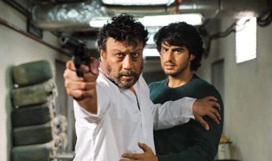 Jackie Shroff and Arjun Kapoor in Aurangzeb
