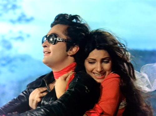 Rishi Kapoor and Dimple Kapadia in Bobby