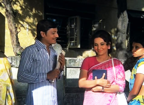 Amol Palekar and Vidya Sinha in Chhoti Si Baat