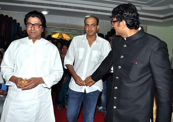 Ajinkya Deo, Raj Thackeray, Ashutosh Gowariker