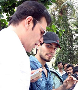 Aditya and Suraj Pancholi
