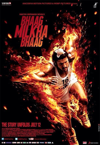 Movie poster of Bhag Milkha Bhag