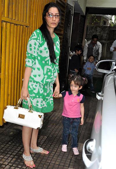 Maanyata Dutt with Iqra