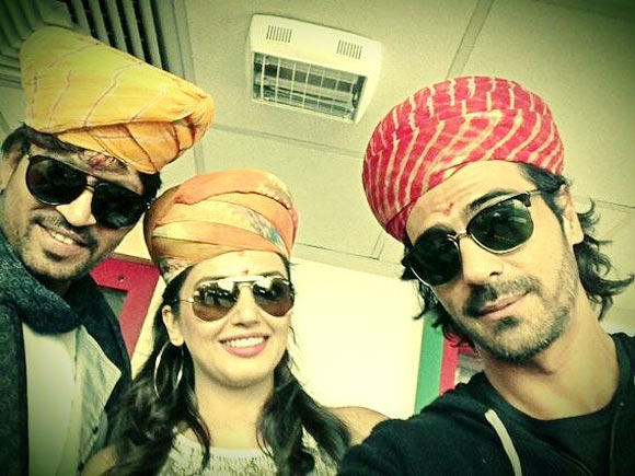 Irrfan, Huma Qureshi and Arjun Rampal