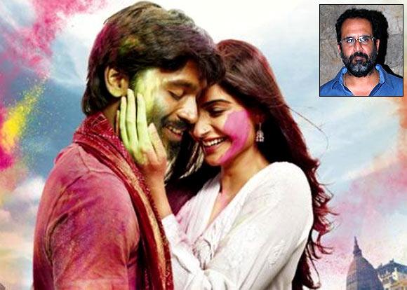 Dhanush and Sonam Kapoor in Raanjhanaa. Inset: Aanand L Rai