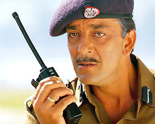 Sanjay Dutt in Mission Kashmir