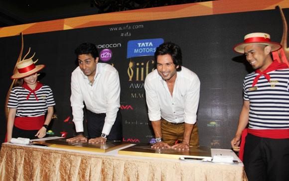 Abhishek Bachchan and Shahid Kapur