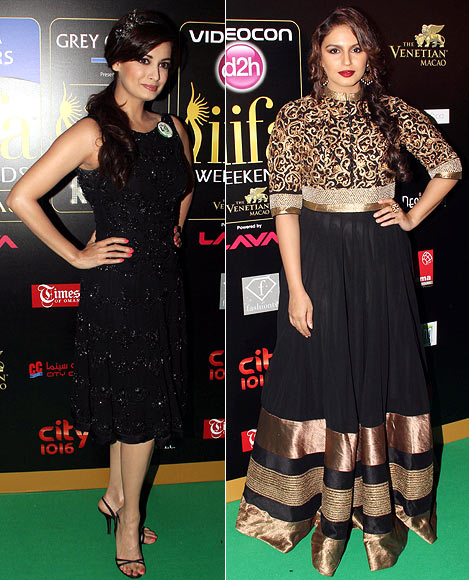 Dia Mirza and Huma Qureshi