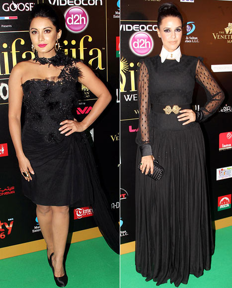 Minisha Lamba and Neha Dhupia
