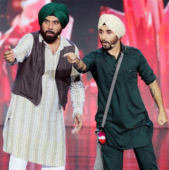 Boman Irani and Vir Das