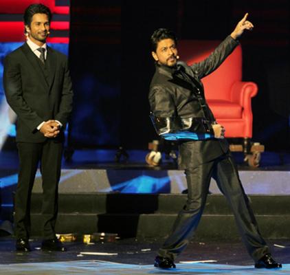 Shah Rukh Khan and Shahid Kapoor