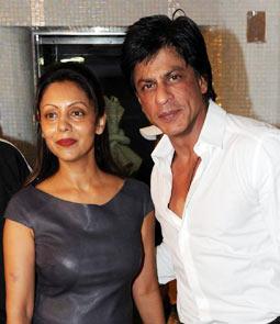 Shah Rukh Khan and Gauri