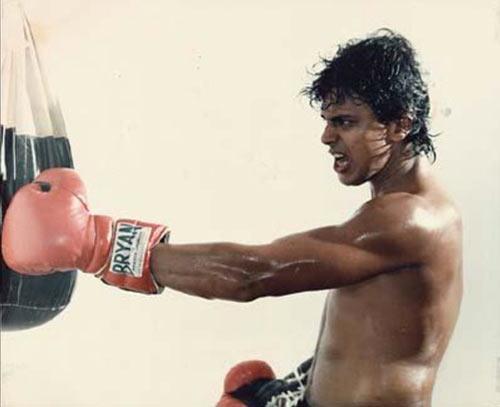 Mithun Chakraborty in Boxer