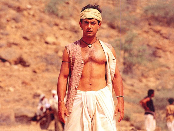 Aamir Khan in Lagaan