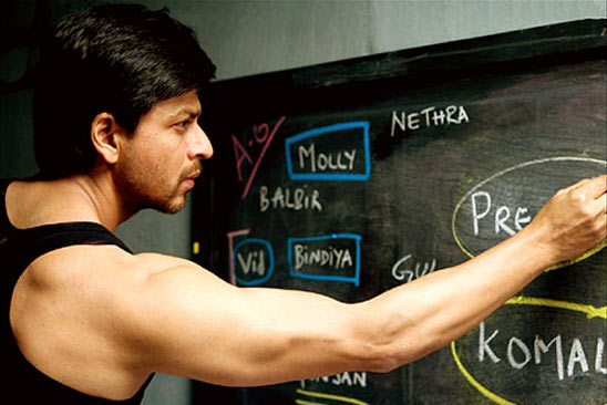 Shah Rukh Khan in Chak De! India