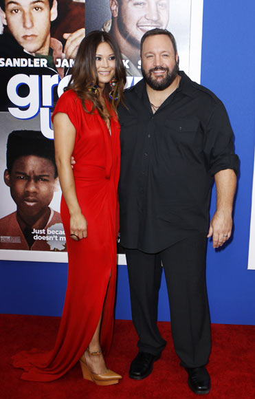 Kevin James with wife Steffiana De La Cruz