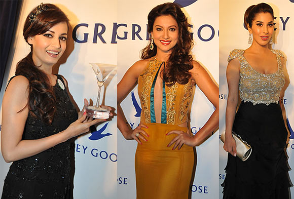 Dia Mirza, Gauhar Khan and Sophie Choudry