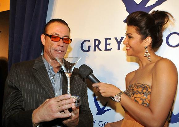Jean-Claude Van Damme and Archana Vijaya