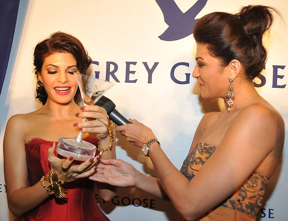 Jacqueline Fernandez and Archana Vijaya