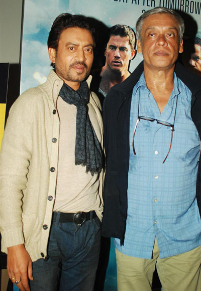 Irrfan Khan and Sudhir Mishra