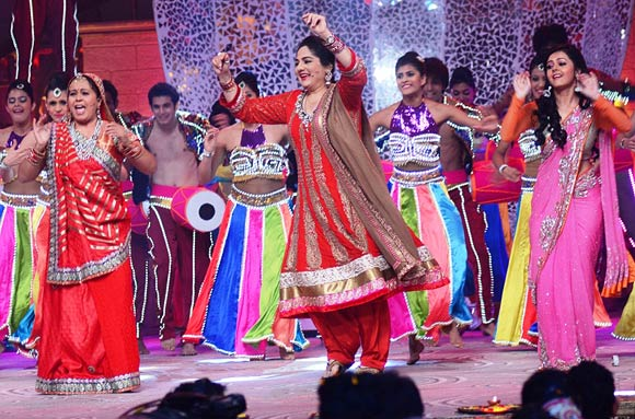 Neelu Vaghela, Shagufta Ali and Devoleena Bhattacharjee