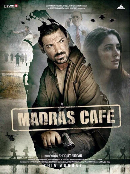 Movie poster of Madras Cafe