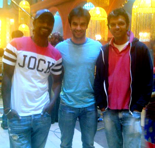 Remo Fernandes, Punit Malhotra and Mahesh