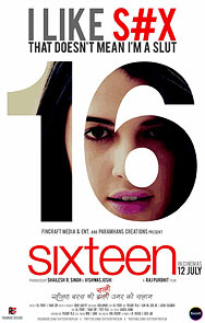 Movie poster of 16