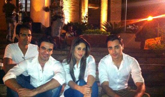 Punit Malhotra, Kareena Kapoor and Imran Khan