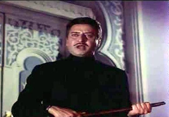 Pran in Ram Aur Shyam(1967)