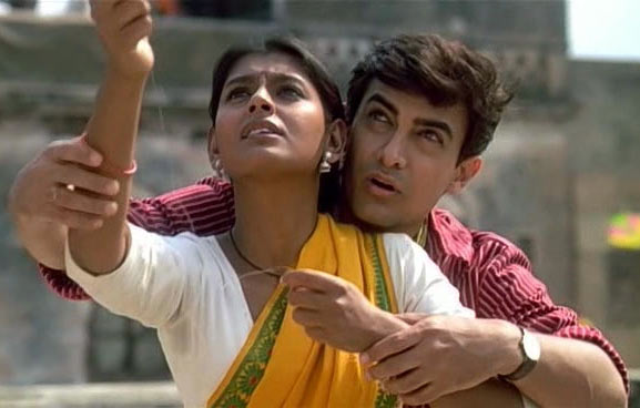 Nandita Das and Aamir Khan in 1947: Earth