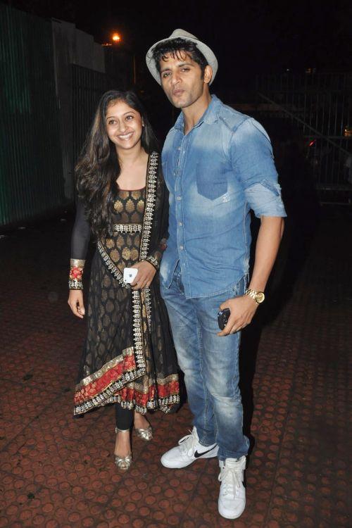 Karanvir Bohra with Sneha Kapoor