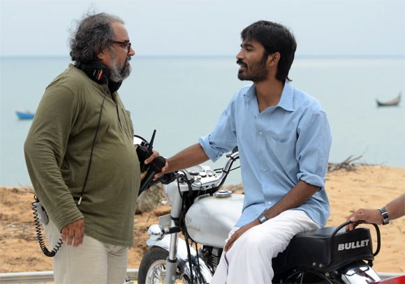 Bharat Bala and Dhanush in Mariyan