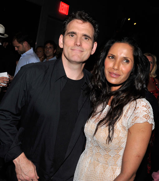 Matt Dillon and Padma Lakshmi
