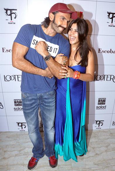 Ranveer Singh and Ekta Kapoor