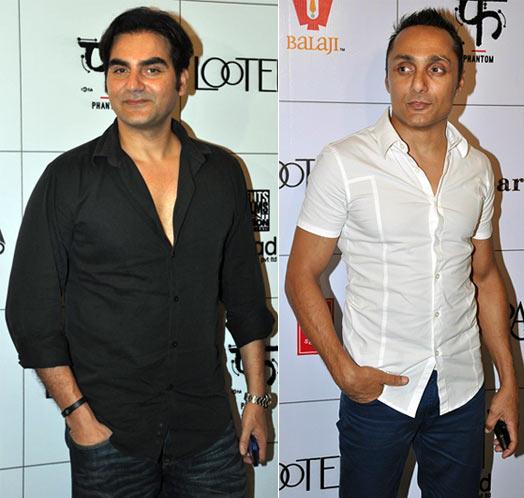 Arbaaz Khan, Rahul Bose