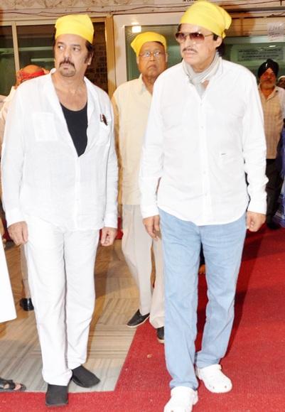 Akbar and Sanjay Khan