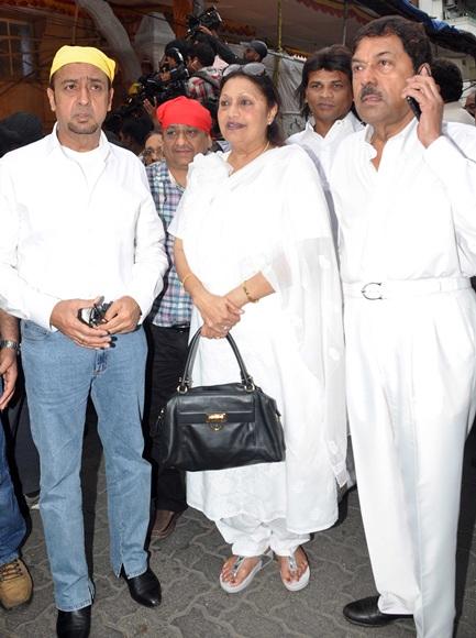 Gulshan Grover, Bindu and Champaklal Zaveri
