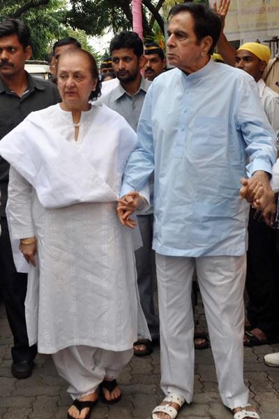 Saira Bano and Dilip Kumar