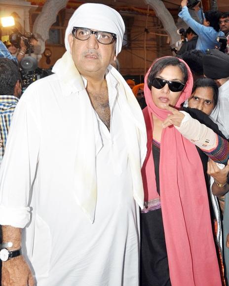 Baba and Shabana Azmi
