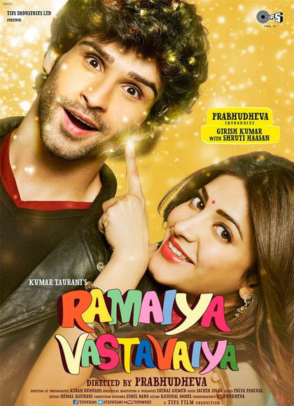 Movie poster of Ramaiya Vastavaiya