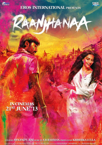 Movie poster of Raanjhana