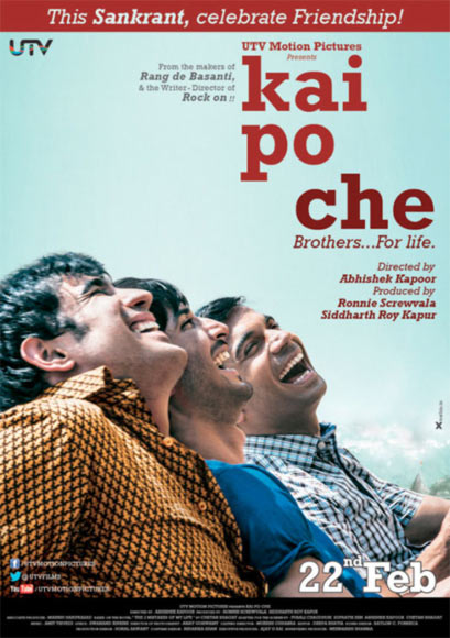 Movie poster of Kai Po Che
