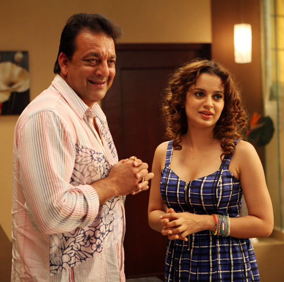 Sanjay Dutt and Kangana Ranaut in Rascals