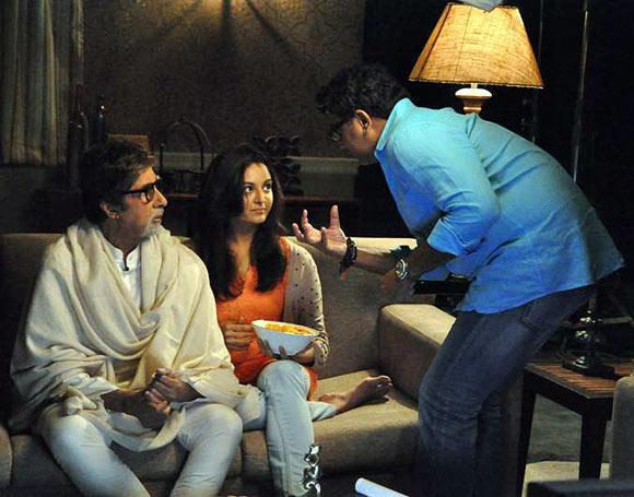 Amitabh Bachchan, Manju Warrier and VA Shrikumar