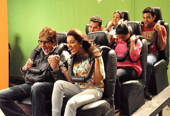 Amitabh Bachchan and Manju Warrier