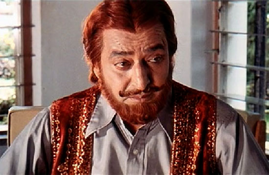 Pran as the iconic Sher Khan in Zanjeer